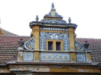 Lukarne kasteel Radim