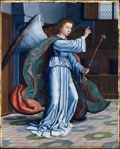 Gerard David, engel, Metropolitan Museum