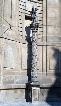 Praag Wenceslas zuil
