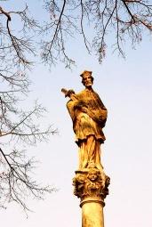 Johannes Nepomucenus zuil