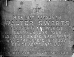 Grafsteen Nederlands inschrift