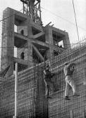 Stalinbeeld, bouw van de kern