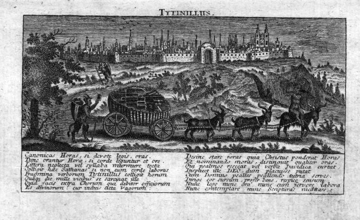 tytinillus Duits gebedenboek Latijn 18de eeuw -bis
