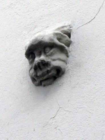 Brno, Oud raadhuis, maskaron