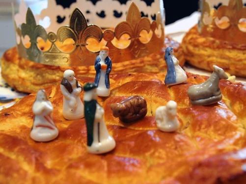 Driekoningen, galette des rois