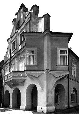 Erker_Pelhrimov- Janák