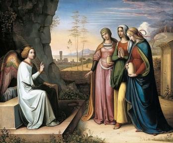 Nazareners, Peter von Cornelius, De drie Maria´s bij het graf, 1815-1822