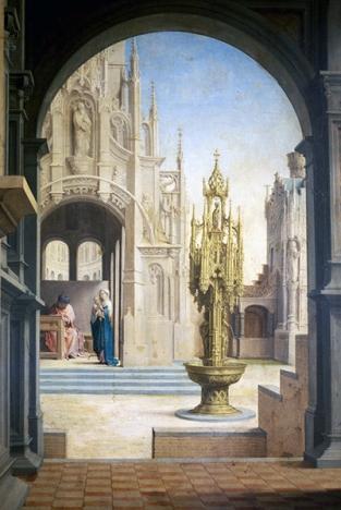 Prager Dombild, middenpaneel (detail)