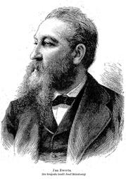 Jan Swerts, portret 1876, naar foto Mukarovsky