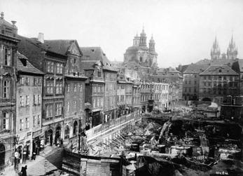 Praag, Platnéřská-straat